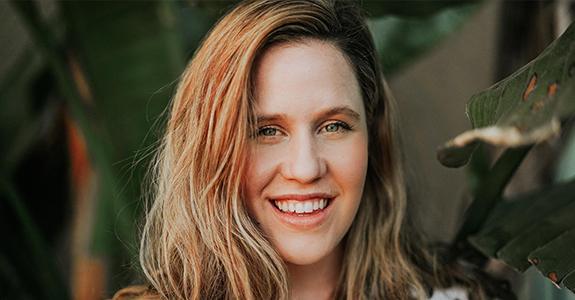 Woman Smiling Blonde Hair