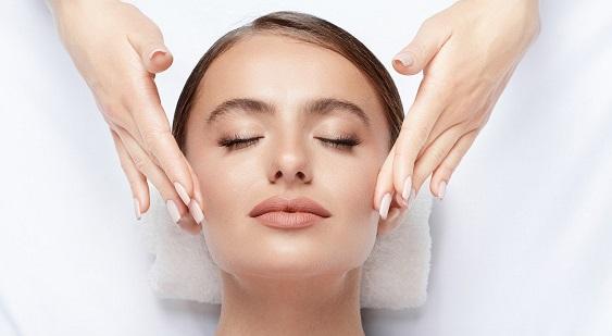 Woman getting an AquaGold Facial Toronto Treatment